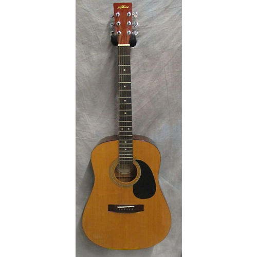 In Store Used Used ABILENE AW020 Natural Acoustic Guitar