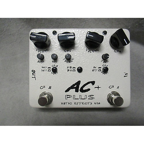 In Store Used Used AC EXOTIC 2000s AC PLUS Effect Pedal-thumbnail