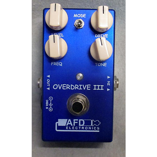 In Store Used Used AFD Electronics ODTE Overdrive III Effect Pedal-thumbnail