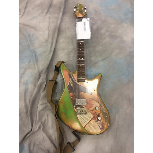 In Store Used Used ALEX SCOTT JET GREEN RELIC Solid Body Electric Guitar