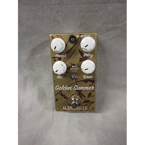 In Store Used Used ALEXANDER GOLDEN SUMMER Effect Pedal