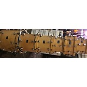 Used ALLEGRA 6 piece MASTER CRAFT Natural Drum Kit