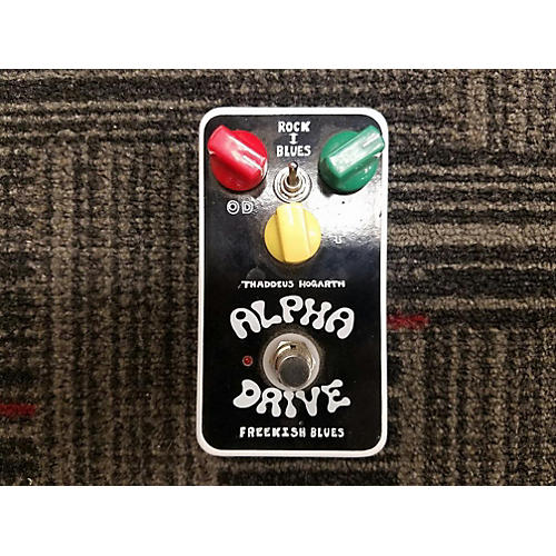 In Store Used Used ALPHA DRIVE FREEKISH BLUES Effect Pedal-thumbnail