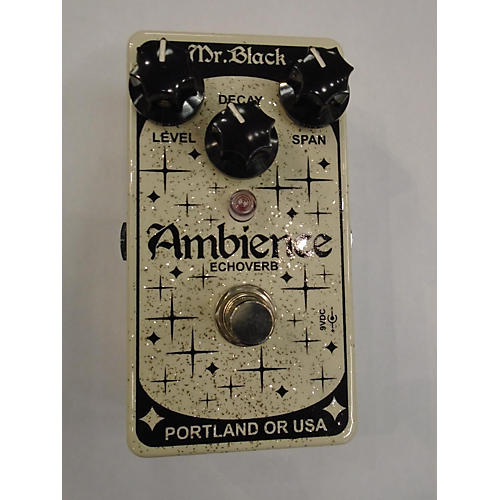 In Store Used Used AMBIENCE ECHOVERB Effect Pedal