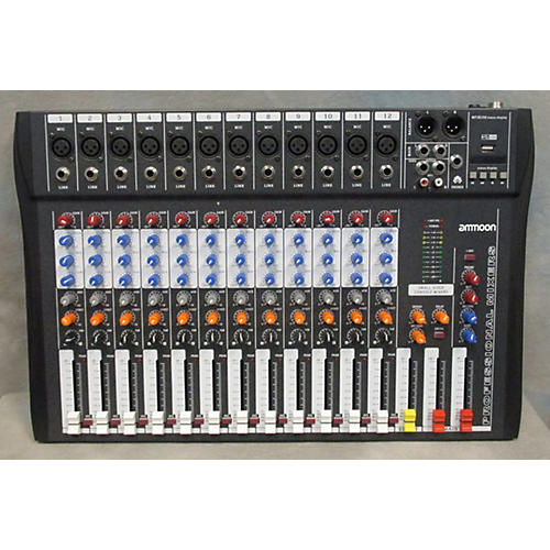 used ammoon 120s usb unpowered mixer guitar center. Black Bedroom Furniture Sets. Home Design Ideas