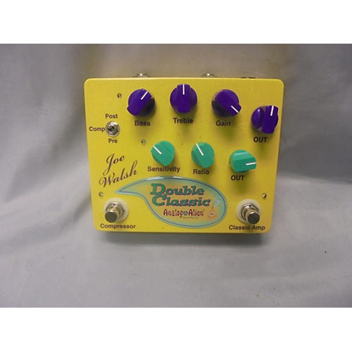 In Store Used Used ANALOG ALIEN JOE WALSH DOUBLE CLASSIC Effect Pedal