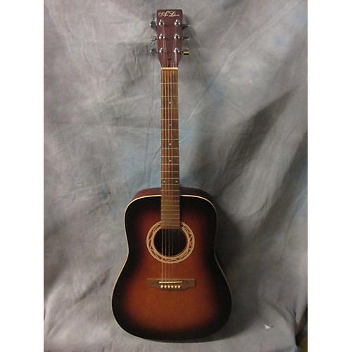 In Store Used Used ART LUTHERIE A&L WILD CHERRY/MERISIER 2 Color Sunburst Acoustic Guitar-thumbnail