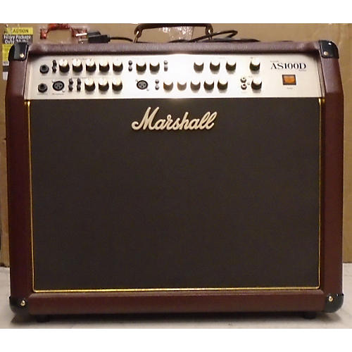 In Store Used Used AS100D MARSHALL Acoustic Guitar Combo Amp-thumbnail