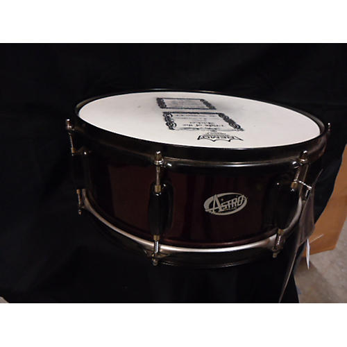 In Store Used Used ASTRO 6X14 SNARE Maroon Drum