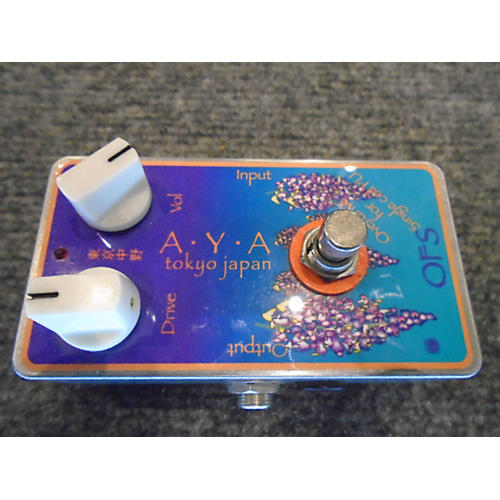In Store Used Used AYA TOKYO JAPAN OVERDRIVE FOR SINGLE COIL PICKUPS Effect Pedal