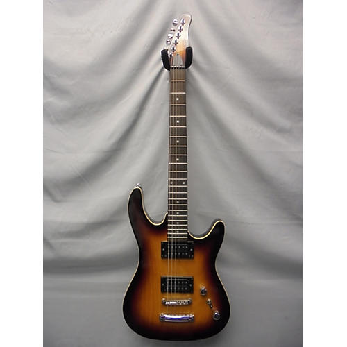 In Store Used Used Abilene Alsr 25dos Vintage Sunburst Solid Body Electric Guitar
