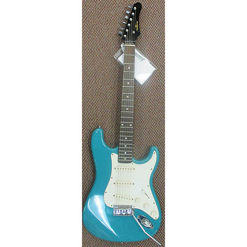 In Store Used Used Abilene S-Style Aqua Marine Solid Body Electric Guitar