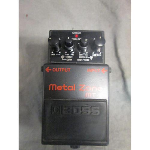 In Store Used  Used Accessory Boss MT2 Metal Zone Effect Pedal