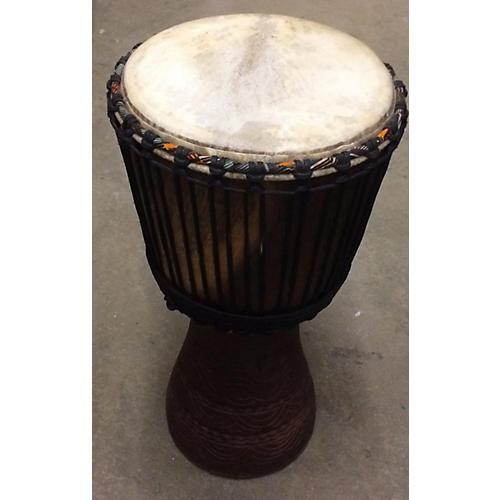 In Store Used Used African Handmade 12.5in Djembe 12 Djembe  126