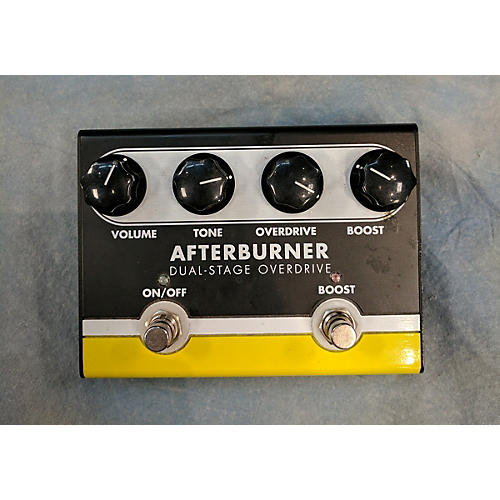 In Store Used Used Afterburner Dual-stage Overdrive Effect Pedal-thumbnail