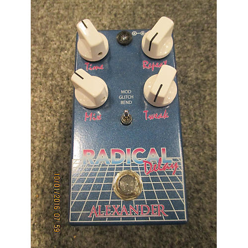 In Store Used Used Alexander Radical Delay Effect Pedal-thumbnail