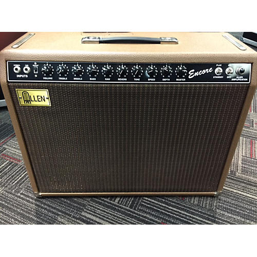 In Store Used Used Allen Amplification Encore Tube Guitar Combo Amp-thumbnail