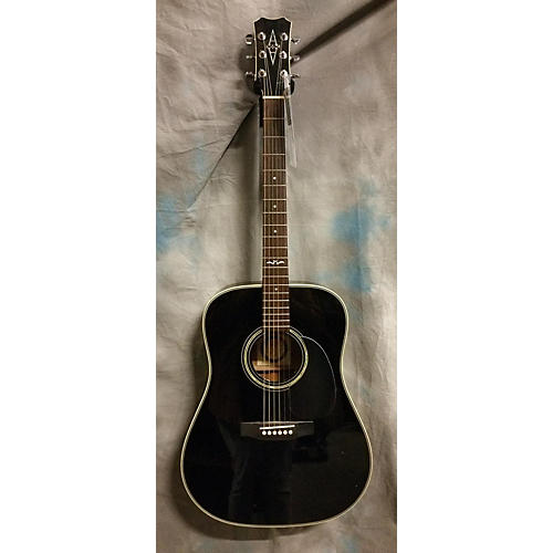 In Store Used Used Alverez Artist Black Acoustic Guitar