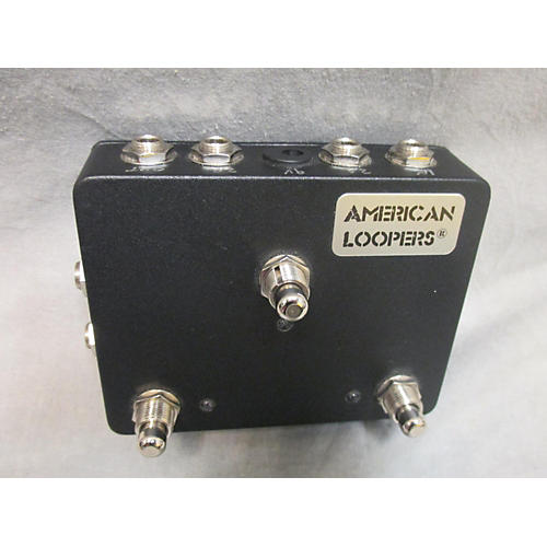 In Store Used Used American Loopers 3CH Click-less True Bypass Switcher 3 Loops Effect Pedal Package-thumbnail