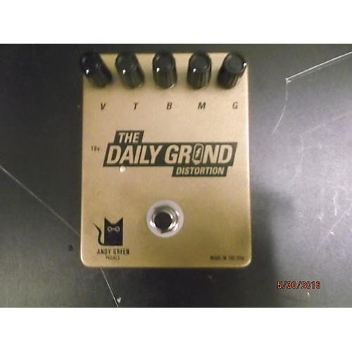In Store Used Used Andy Green Pedals The Daily Grind Distortion Effect Pedal-thumbnail