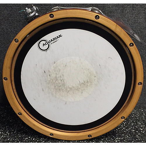 In Store Used Used Animal Drums Custom DW 2014 5.5X14 Solid Stave Maple Wood Hoop Natural Drum-thumbnail