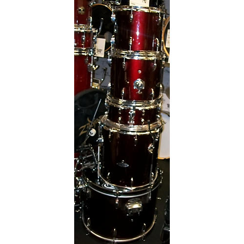 In Store Used Used Apollo 5 piece A1 Red Drum Kit-thumbnail