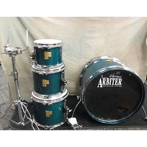 In Store Used Used Arbiter 4 piece Auto-Tune Forest Green Laquer Drum Kit