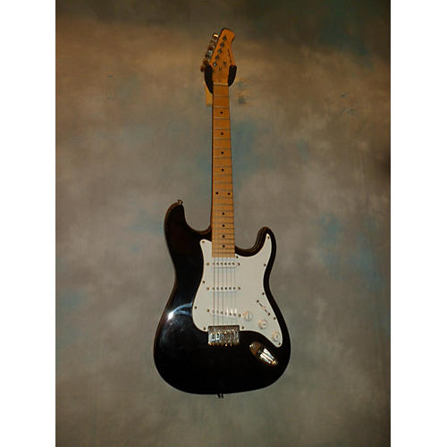 In Store Used Used Archer Ls08 Black Solid Body Electric Guitar-thumbnail