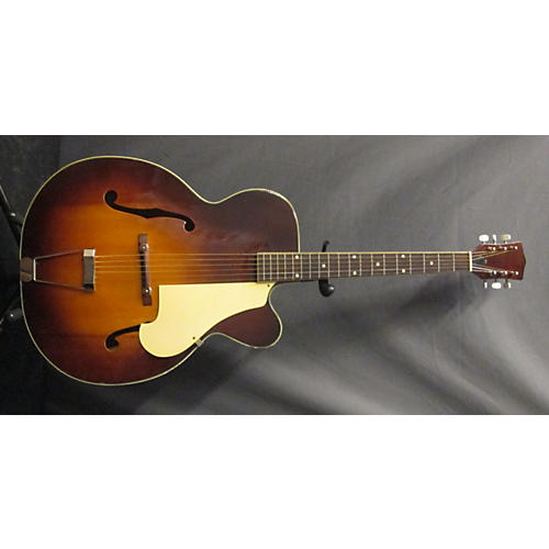 In Store Used Used Archtop Semihollow N\A 2 Color Sunburst Acoustic Guitar-thumbnail
