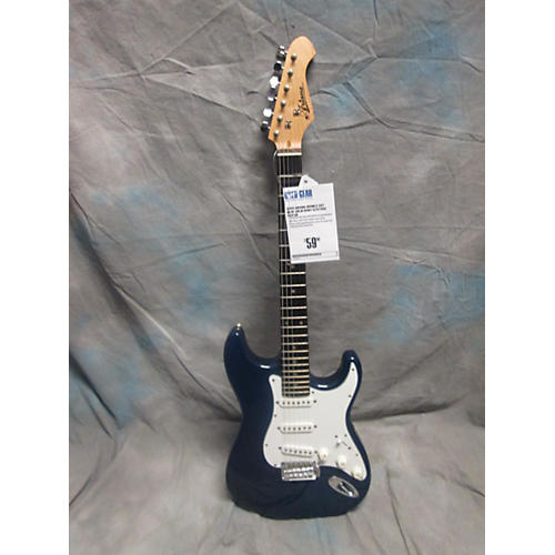 In Store Used Used Ariana Double Cut Blue Solid Body Electric Guitar