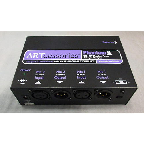 In Store Used Used Artcessories Phantom 2 Microphone Preamp-thumbnail