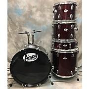 Used Astro 5 piece Astro Maroon Drum Kit