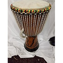Used Authentic African Handmade 14in Djembe Djembe