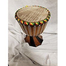Used Authentic African Handmade 6in Djembe Djembe