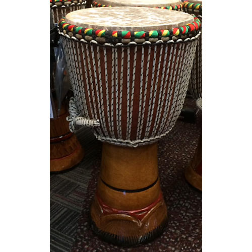 In Store Used Used Authentic Large Handmade Djembe