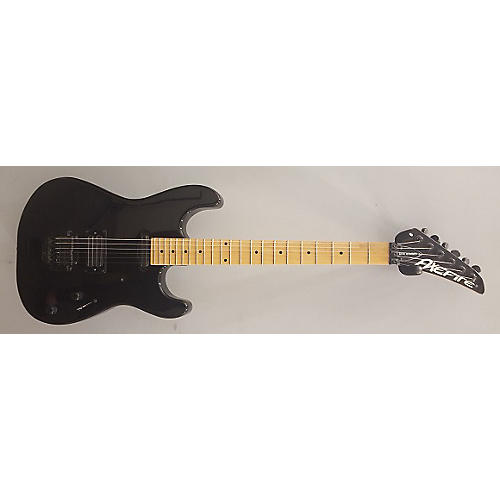 In Store Used Used Axefire Dive Bomber Black Solid Body Electric Guitar
