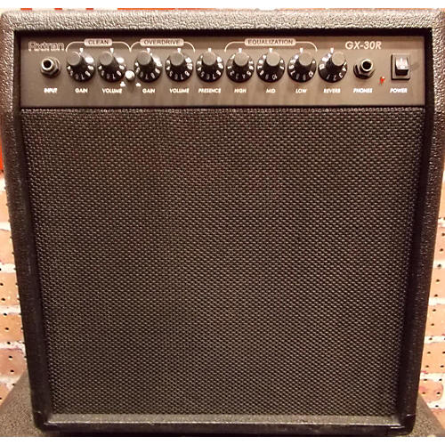 In Store Used Used Axtron Gx-30R Guitar Combo Amp