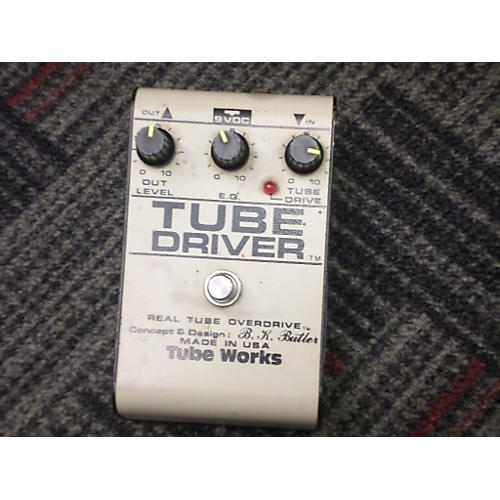 In Store Used Used B.K.Butler Tube Driver 12ax7 Effect Pedal