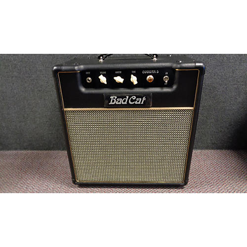 In Store Used Used BADCAT COUGAR 5W 1X12 Tube Guitar Combo Amp-thumbnail
