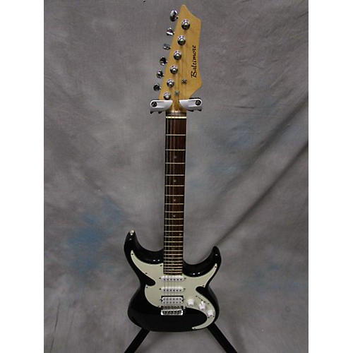 In Store Used Used BALTIMORE EL STRATACASTER Black Solid Body Electric Guitar
