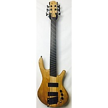 Used BEARDLY CUSTOMS EB6 Natural Electric Bass Guitar