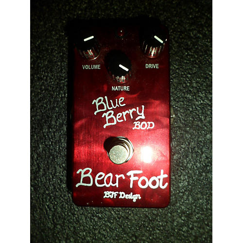In Store Used Used BJF Design Blueberry BOD Effect Pedal