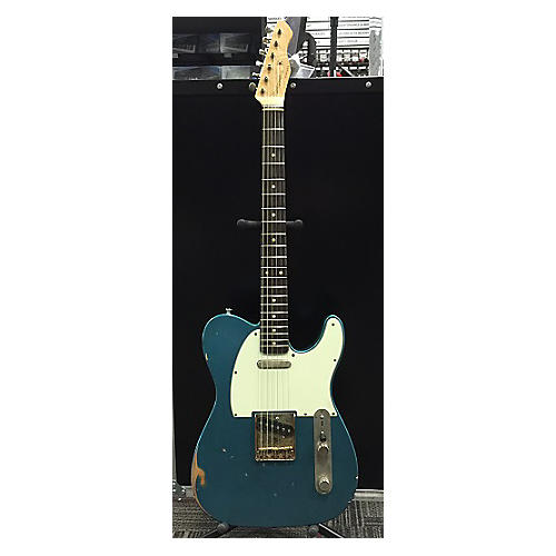 In Store Used Used BLUESMAN VINTAGE 62' COUPE Lake Placid Blue Solid Body Electric Guitar