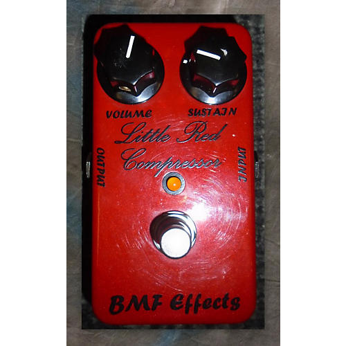 In Store Used Used BMF Effects Little Red Compressor Effect Pedal-thumbnail