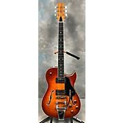 Used BP ROSE MAX 135ALB Cherry Sunburst Hollow Body Electric Guitar