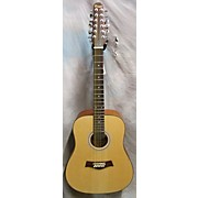 Used BUSUYI GUITARS 2016 VEE DIV Natural 12 String Acoustic Electric Guitar