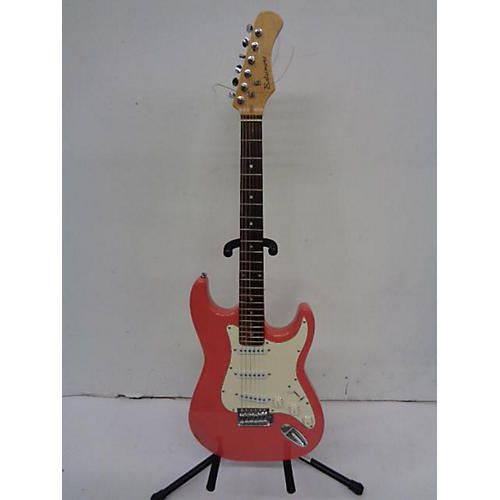 used baltimore double cut pink solid body electric guitar guitar center. Black Bedroom Furniture Sets. Home Design Ideas