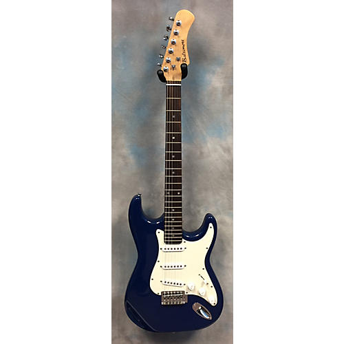 used baltimore s style blue solid body electric guitar guitar center. Black Bedroom Furniture Sets. Home Design Ideas