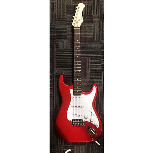 In Store Used Used Baltimore Strat Red Solid Body Electric Guitar