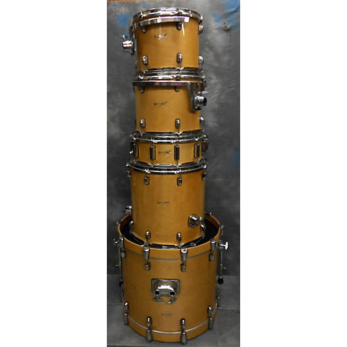 In Store Used Used Basix 5 piece Basix Drums Natural Drum Kit